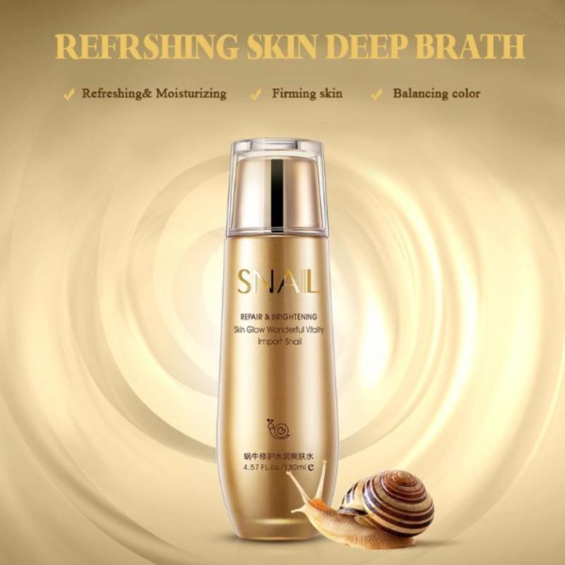 سرم آبرسان و ضد لک حلزون بیواکوا – SNAIL Repair & Brightening Skin Liquid Essence