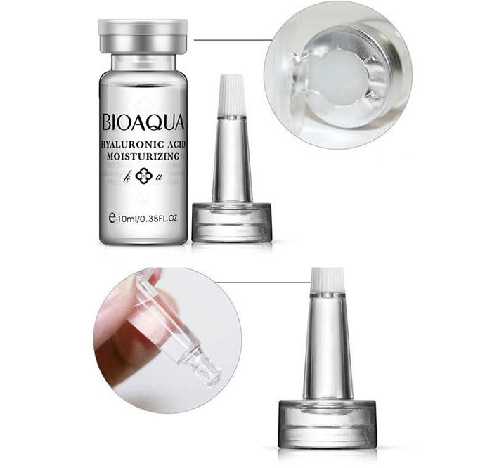 سرم (ویال) مرطوب کننده هیالورونیک اسید BIOAQUA Hyaluronic Acid HA