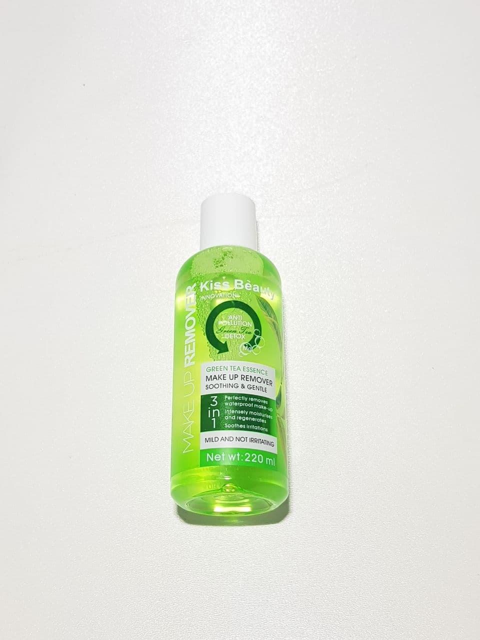 محلول آرایش پاک کن کیس بیوتی چای سبز Makeup Remover Green Tea