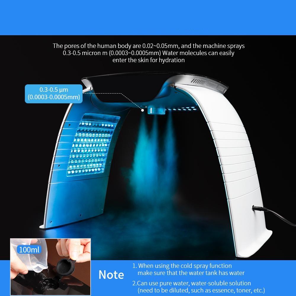 دستگاه ال ای دی نور درمانی 7 رنگ